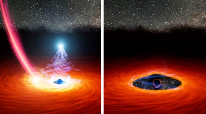 Astrónomos ven desaparecer la corona de un agujero negro que luego reaparece