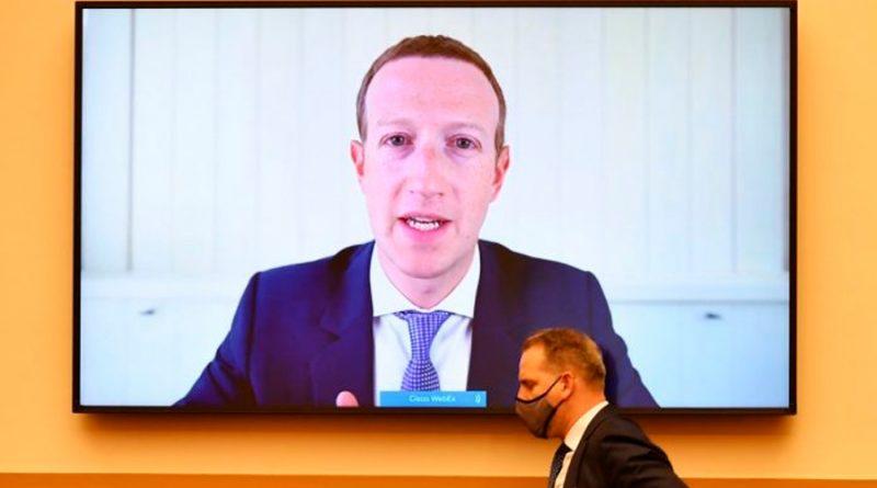 Congresistas de EU acusan a Facebook y Google de prácticas monopólicas