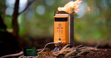 Esta batería carga el móvil con fuego... y de paso te prepara café