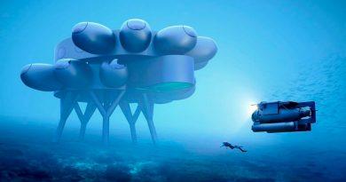El nieto de Jacques Cousteau presenta Proteus, una Estación Espacial Internacional submarina