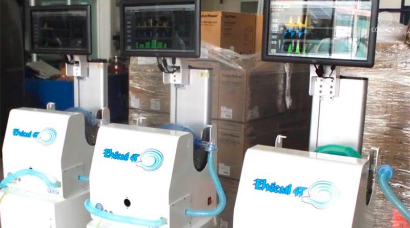 Conacyt inicia primera fase de distribución de Ehécatl y Gätsi, ventiladores 100% mexicanos