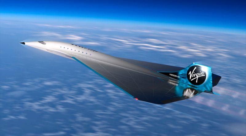 Virgin Galactic construirá un avión comercial supersónico que podría superar tres veces la velocidad del sonido