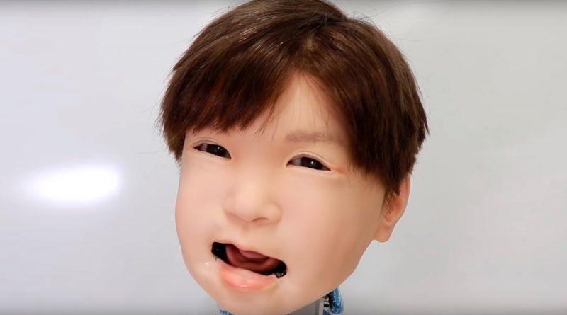 Este es Affetto, el niño robot que puede experimentar dolor