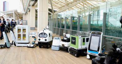 Conoce la nueva flota de robots que desinfectarán Tokio