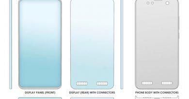 Inventaron un celular con pantalla removible: de qué se trata
