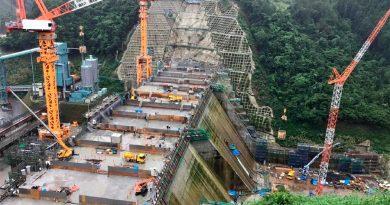 Así es la presa que están construyendo en Japón completamente con robots
