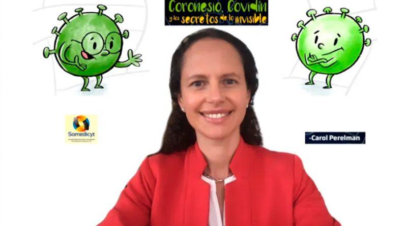Científica mexicana escribe libro para explicar el coronavirus a los niños