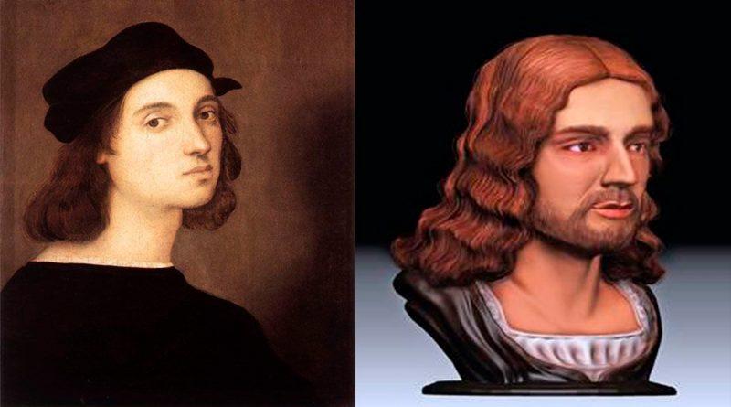 Investigadores reconstruyen en 3D el rostro del pintor Rafael y confirman dónde fue enterrado el genio