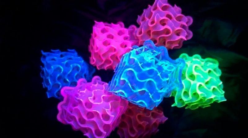 Crean el material fluorescente más brillante conocido