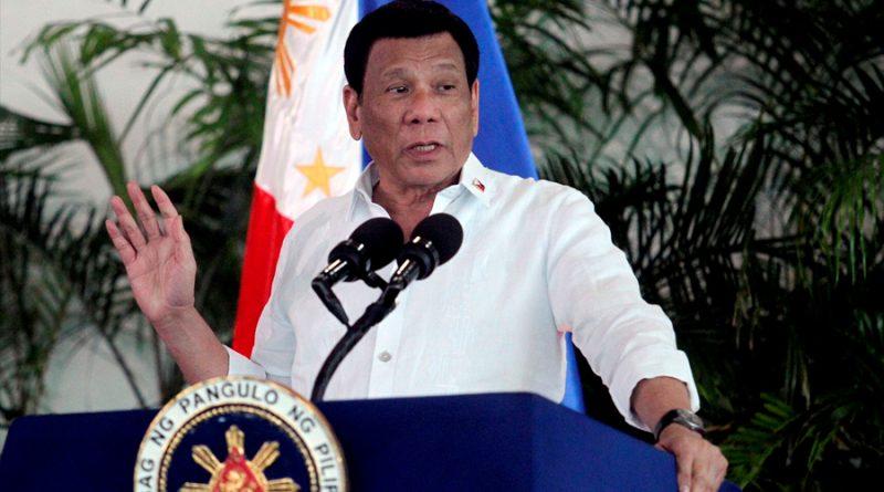 Presidente filipino se ofrece como voluntario para probar la nueva vacuna rusa contra el coronavirus