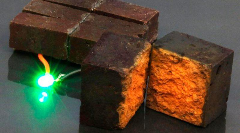 Estos ladrillos inteligentes almacenan energía en las paredes