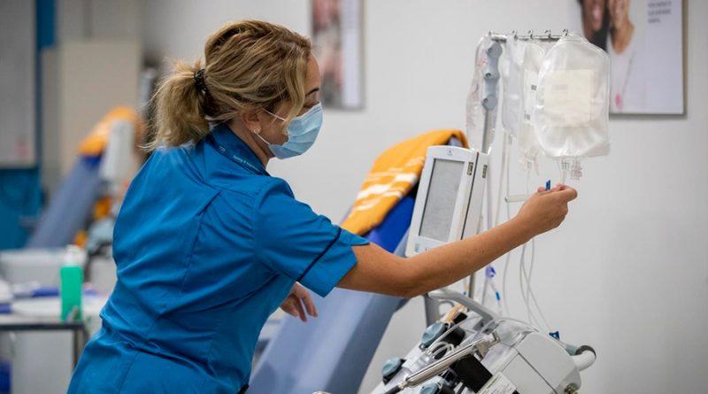 Estudio apunta que el plasma de recuperados de Covid-19 reduce la mortalidad