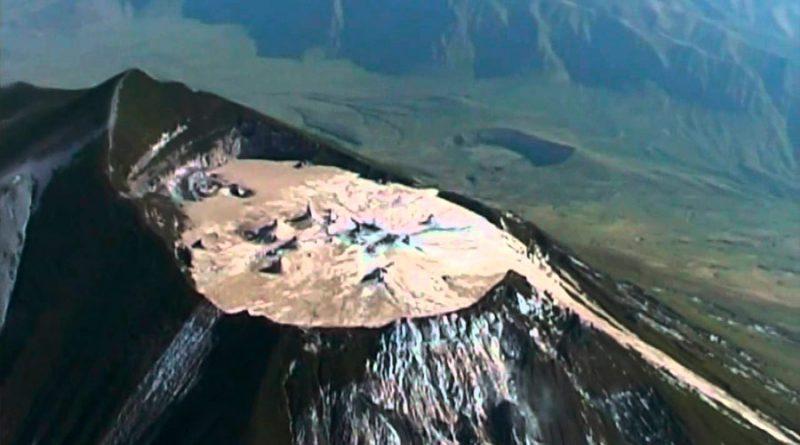 El volcán más raro del mundo