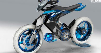 La moto de Yamaha impulsada por un motor... de agua
