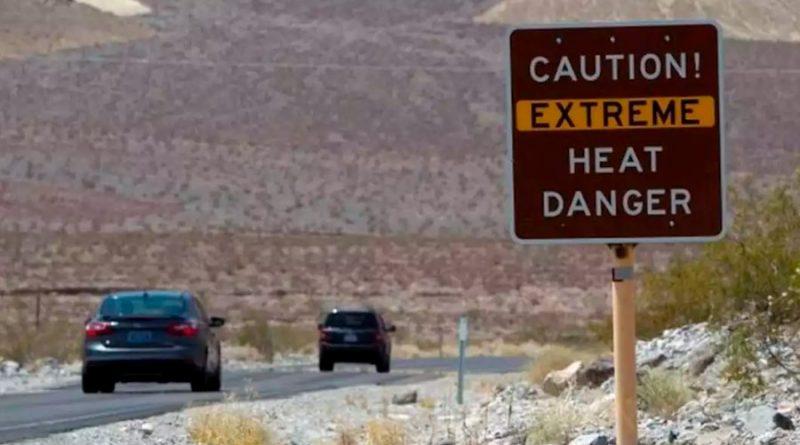 El valle de la Muerte en California registra la temperatura más alta de la historia: 54.4 grados