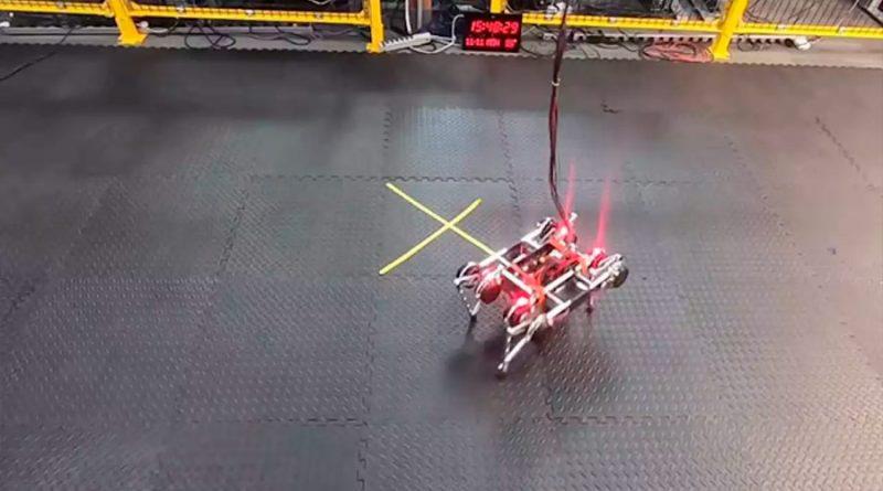 La inteligencia robótica da un paso más: este robot se ha enseñado a sí mismo a caminar