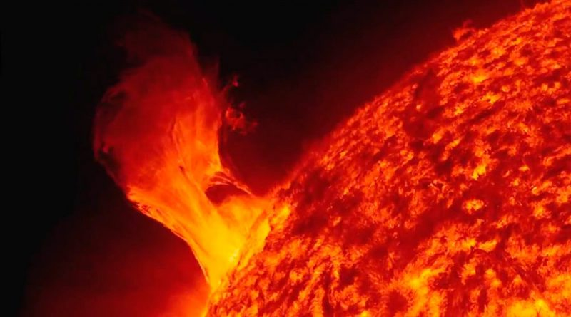 Descubren cómo predecir las erupciones solares extremas