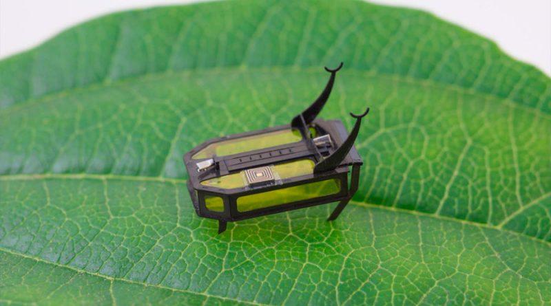 Científicos crean un robot del tamaño de un escarabajo movido por metanol
