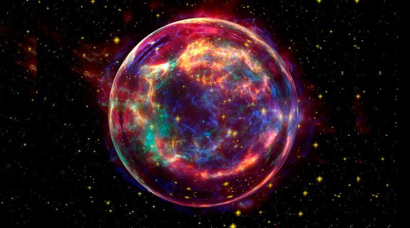 Una supernova provocó una extinción masiva en la Tierra hace 359 millones de años
