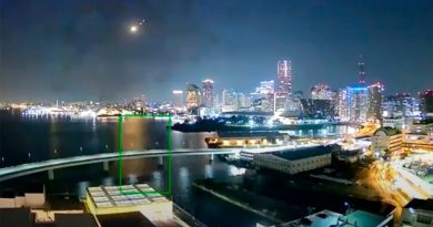 Un meteorito ilumina el cielo de Japón por unos segundos