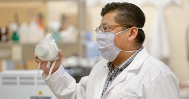 Científicos mexicanos crean cubrebocas con extracto de zeolita y jamaica que retener entre 96% y 98% de partículas