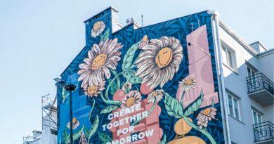 Este mural ecológico es capaz de limpiar toda contaminación del aire