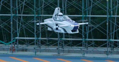 Así se defiende en el aire el eVTOL de Toyota, el coche volador eléctrico más compacto del mundo