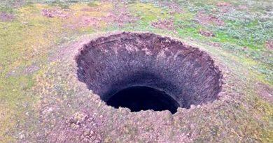 Descubren nuevo cráter con enormes extensiones ubicado en Siberia