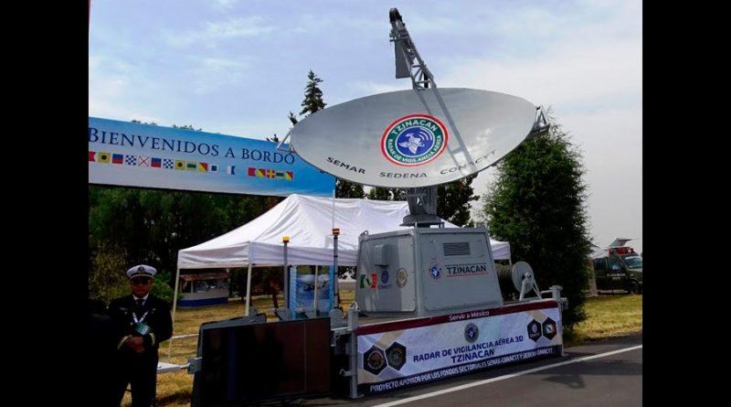 Presentan el 'Tzinacan', primer radar de vigilancia aérea 100% mexicano