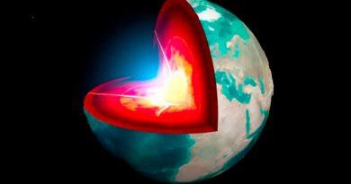 Científicos afirman que el núcleo sólido de la Tierra tiene unos 1000 millones de años