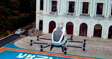 Así es el coche volador chino que usará Sevilla como laboratorio