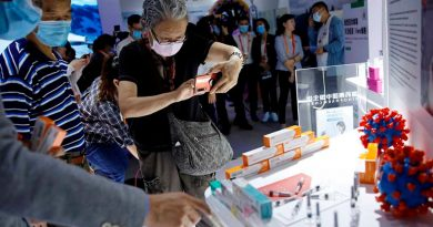 Presenta China por primera vez sus vacunas contra covid-19