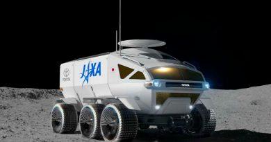 Toyota presenta el primer vehículo lunar tripulado, el Lunar Cruiser, con una autonomía de 10 mil Kms