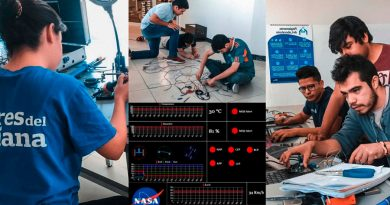 ¡Lo hacen de nuevo! Ganan por tercera vez premio de telemetría en NASA