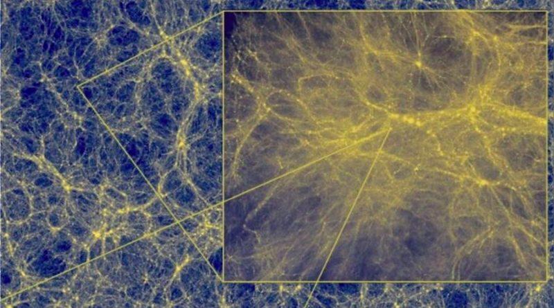 Si pudiéramos ver la materia oscura, así luciría, de acuerdo con científicos