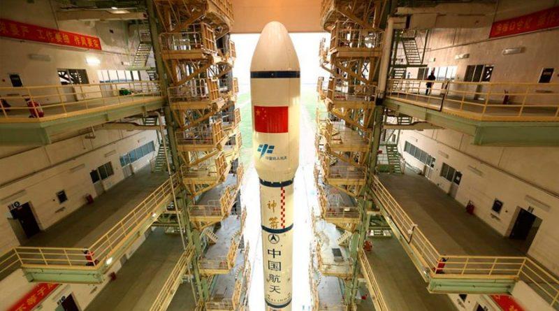 China recupera con éxito su primera nave espacial reutilizable