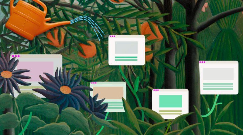 Jardines digitales: la respuesta espiritual a la futilidad de las redes sociales
