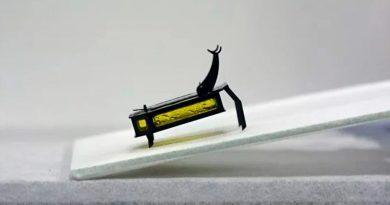Crean microrobot que no necesita electricidad ni baterías [FOTOS Y VIDEO]