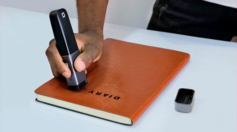 El 'bolígrafo' que imprime lo que quieras sobre cualquier superficie