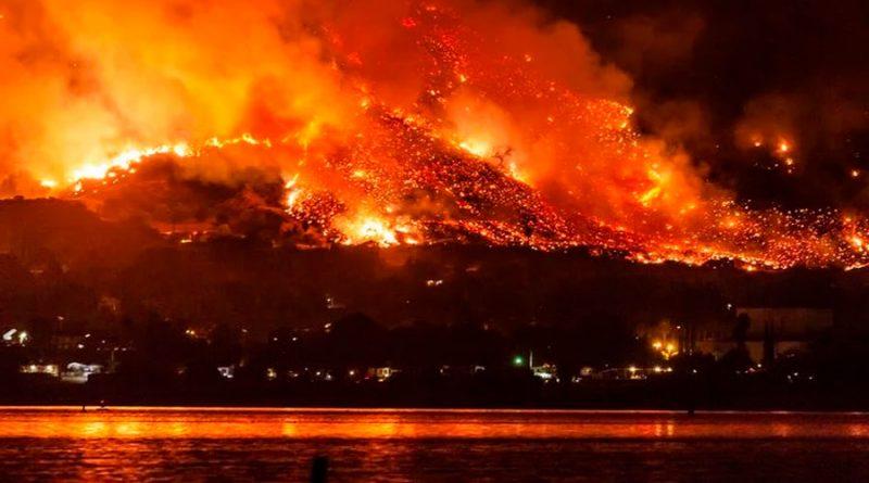 ¿Dónde van a parar el humo y las cenizas de los incendios?