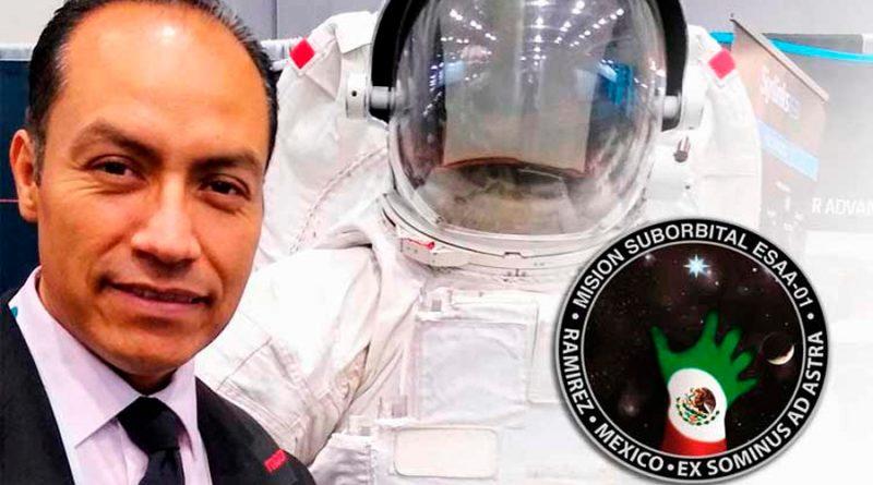 José Alberto Ramírez, el científico de la UNAM que estará en el primer viaje al espacio tripulado de AL