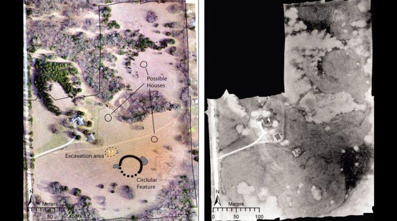 Drones revelan nuevas huellas de una ciudad ancestral en Kansas