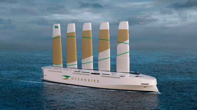 Este barco transportará 7.000 coches y contamina un 90% menos gracias a sus enormes velas
