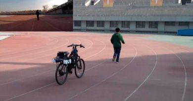 Esta bicicleta autónoma DIY te sigue allá donde vas