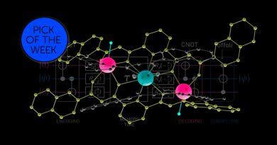 Investigadores crean una molécula que ejecuta un código cuántico de corrección de errores