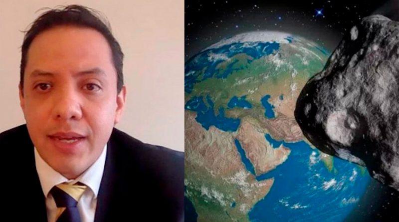 Alumno de la UNAM gana premio de astronomía internacional, gracias a sus estudios del asteroide Apofis