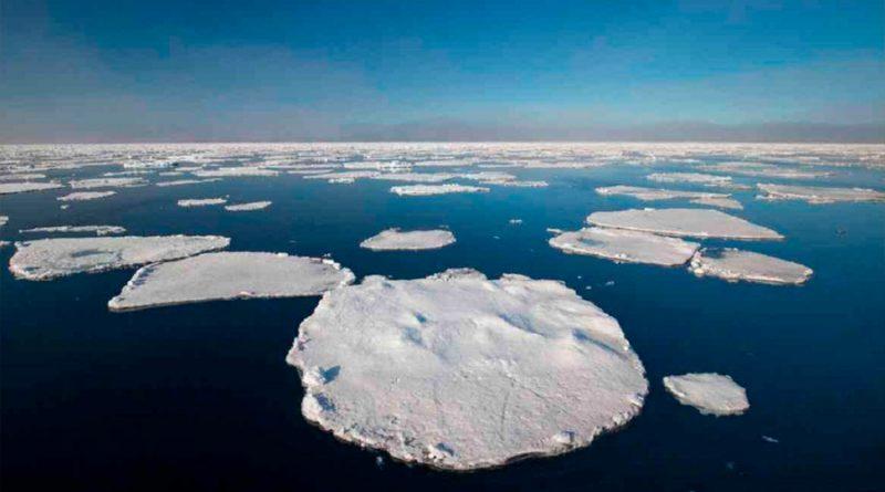 Se derrite el casquete polar ártico; registra su segunda área más baja en 42 años