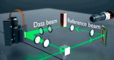Microsoft pone a prueba el almacenamiento de datos en hologramas, podría ser la nube del futuro