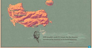 La IA de Google crea un mapamundi con 100.000 autores en donde cada isla es un escritor y cada ciudad un libro