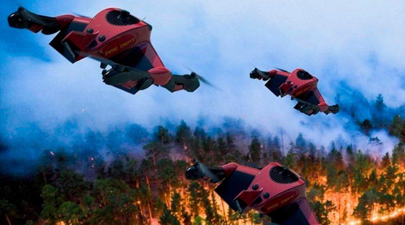 Estos drones híbridos para emergencias vuelan a 225 Km/h